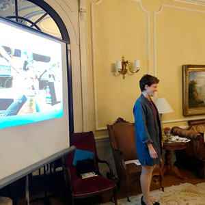Louann presenting